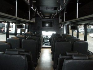 Royal carriage Limousine interior